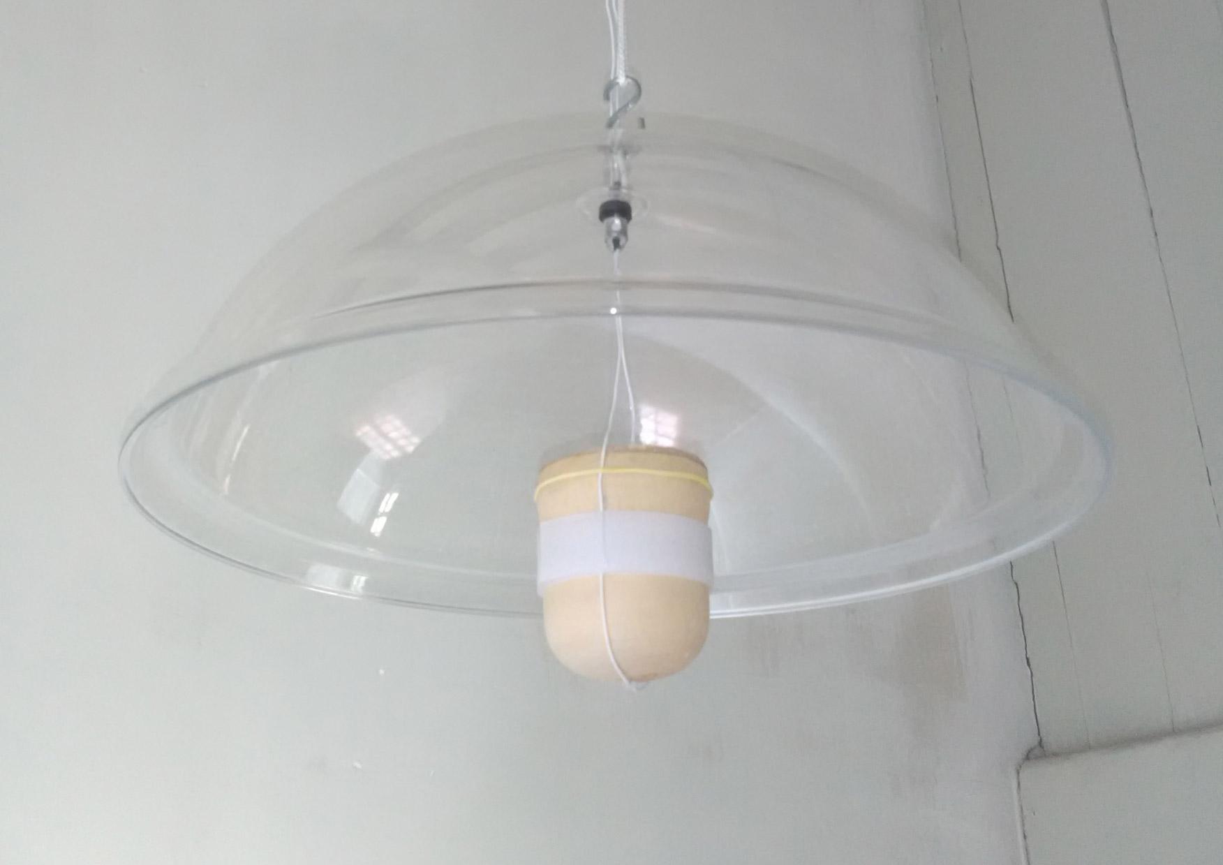 Espace 2: Paume, par Norah Krief, Dispositif immersif et directif